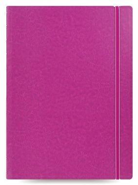 Тетрадь Filofax CLASSIC BRIGHT 115026 A4 PU 56л линейка съемные листы спираль двойная фуксия