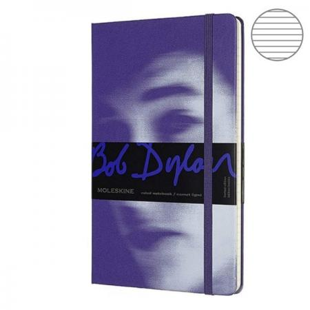 Блокнот Moleskine LIMITED EDITION BOB DYLON LEBDQP060B Large 130х210мм 240стр. линейка фиолетовый huntingtower large print edition