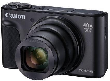 Фото - Фотоаппарат Canon PowerShot SX740HS черный 21.1Mpix Zoom40x 3 4K SDXC/SD/SDHC CMOS 1x2.3 IS opt 1minF turLCD 10fr/s 30fr/s HDMI/WiFi/NB-13L фотоаппарат