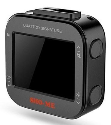 Радар-детектор Sho-Me Quattro Signature GPS приемник черный радар детектор sho me combo 5 а7 [combo 5 а7 gps glonass]