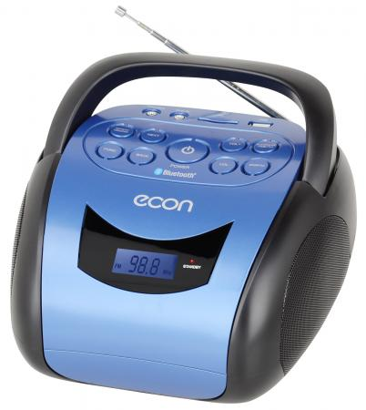 2х1,5Вт, цифровой тюнер, расширенный FM, воспроизведение MP3, USB,SD-входы, возможность работы от батареек