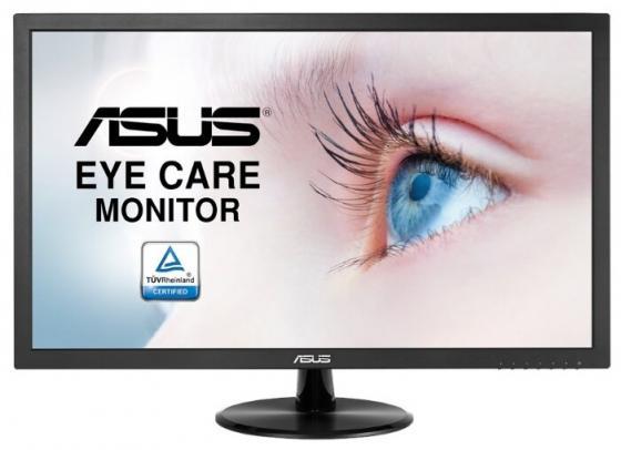 """Монитор 24"""" ASUS VP247NA черный VA 1920x1080 250 cd/m^2 5 ms DVI VGA 90LM01L0-B06170 монитор 21 5 asus vs228de"""