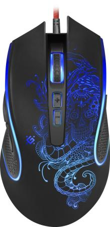 Фото - Мышь проводная Defender Venom GM-640L чёрный USB 52640 мышь проводная defender venom gm 640l чёрный usb 52640