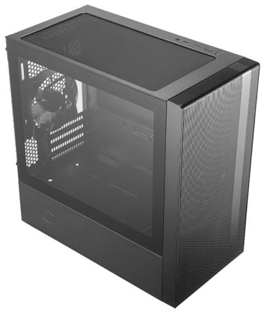 Корпус microATX Cooler Master MasterBox NR400 Без БП чёрный MCB-NR400-KGNN-S00 корпус microatx cooler master elite 342 без бп чёрный rc 342 kkn6 u3