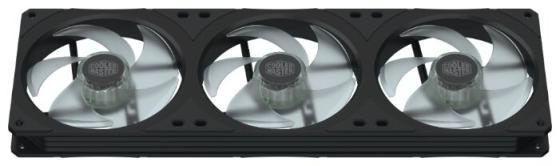 Cooler Master MASTERFAN SF360R ARGB, 3x120mm, 4-Pin (PWM), ARGB, 3 pcs + ARGB LED Controller вентилятор cooler master masterfan sf240r argb 2x120mm argb mfx b2d2 18npa r1