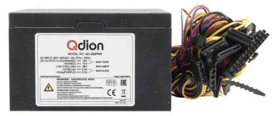 Power Supply FSP QDION ATX 500W, 120mm, 5xSATA, 1xPCI-E, APFC, 80+ все цены