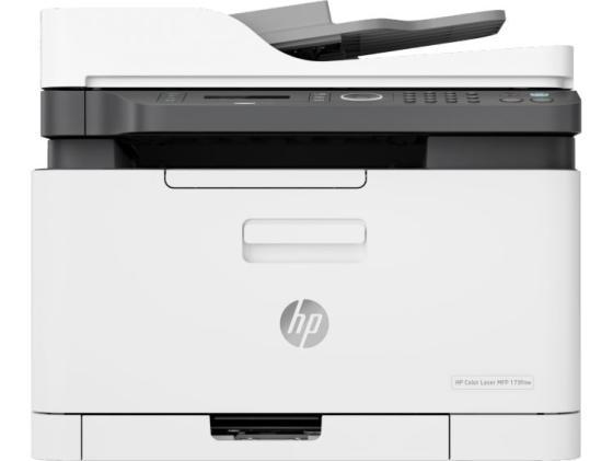 Фото - МФУ HP Color Laser 179fnw <4ZB97A> принтер/сканер/копир/факс, A4, 18/4 стр/мин. ADF, 128Мб, USB, LAN, WiFi (замена SS256M Samsung SL-C480FW) мфу canon i sensys mf744cdw копир цветной принтер сканер dadf duplex 27стр мин 1200x1200dpi fax wifi lan a4 замена mf734cdw