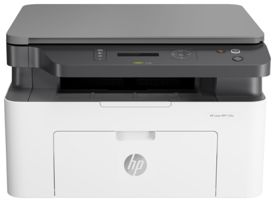 МФУ HP Laser 135a <4ZB82A> принтер/сканер/копир, A4, 20 стр/мин. 128Мб, USB