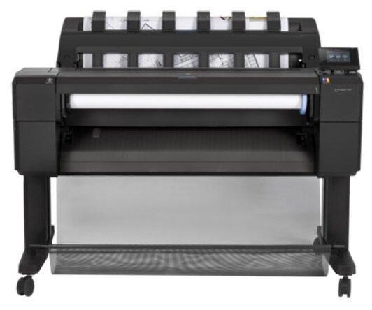 HP DesignJet T930 36-in Printer hp designjet t930 ps 36 in printer encrhdd