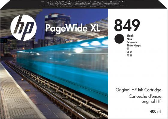 Фото - HP 849 400-ml Black PageWide XL Ink Crtg hp 872 3l overcoat latex ink crtg