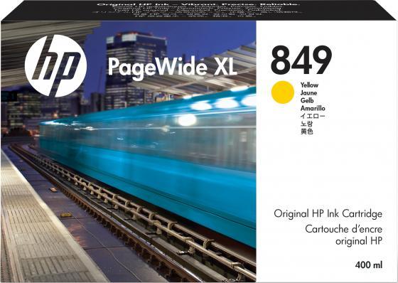 Фото - HP 849 400-ml Yel PageWide XL Ink Crtg hp 872 3l overcoat latex ink crtg