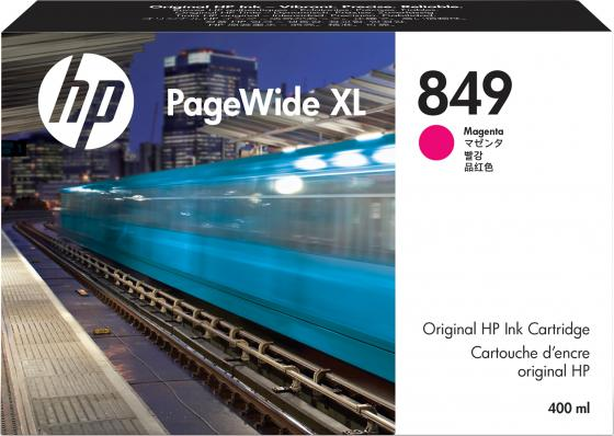 Фото - HP 849 400-ml Mag PageWide XL Ink Crtg hp 872 3l overcoat latex ink crtg