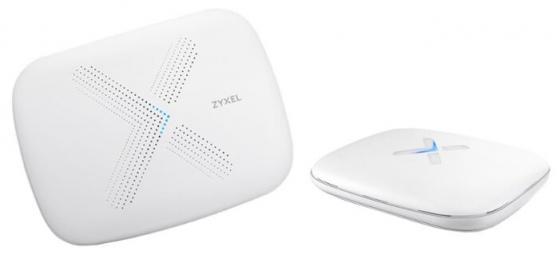 ZYXEL WSQ50 Multy X Mesh Wi-Fi System (WSQ50 1 pcs + WSQ20 ), AC Wave2, MU-MIMO, 802.11a / b g n ac, Amazon Alexa support