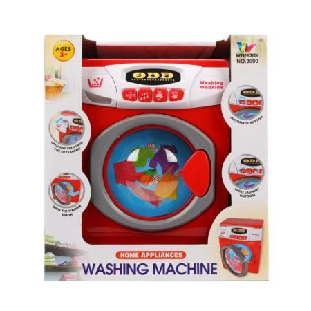Стиральная машина Наша Игрушка 3000 со звуком и светом