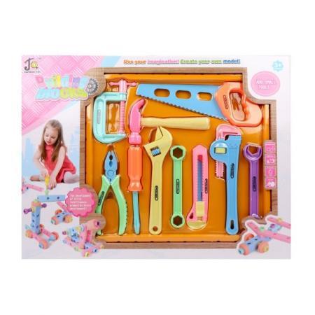 Купить Набор инструментов Наша Игрушка 108-9 10 предметов, Игровые наборы Юный мастер