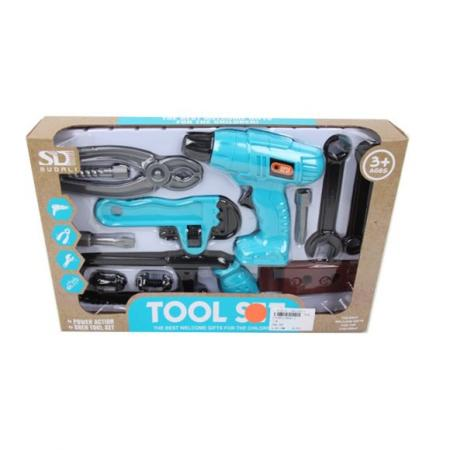 Купить Набор инструментов Наша Игрушка 6642-1 11 предметов, Игровые наборы Юный мастер