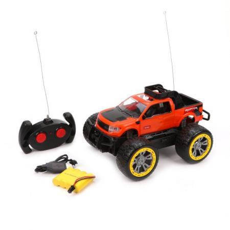 Купить Машина р/у Внедорожник, 4 канала, аккум., USB шнур, эл.пит.AA*2шт.не вх.в комплект, Наша Игрушка, Радиоуправляемые игрушки