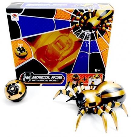 Купить Игрушка на радиоуправлении Наша Игрушка Паук разноцветный от 8 лет пластмасса, Радиоуправляемые игрушки