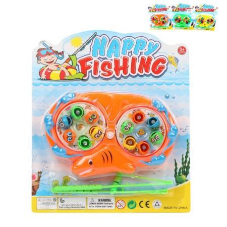 Купить Рыбалка заводная, игровое поле + 12 фигурок + 2 удочки, в ассорт., блистер, Наша Игрушка, Игровые наборы для мальчиков