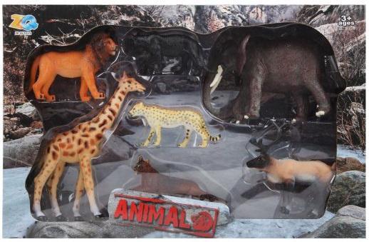 цена на Набор Дикие животные, коробка