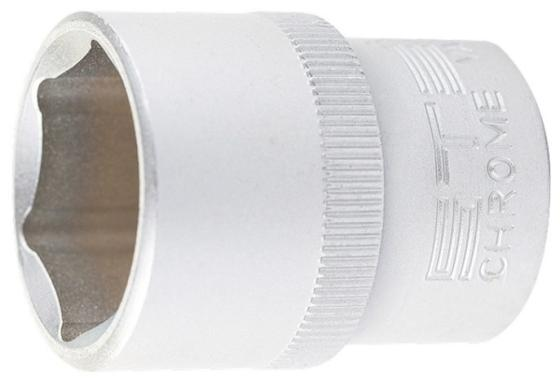 Головка торцевая, 15 мм, 6-гранная, CrV, под квадрат 1/2// Stels головка торцевая 1 4 е6 crv stels