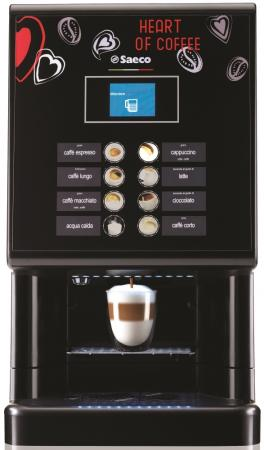 Кофемашина Saeco Saeco Phedra Cappuccino 1550 Вт черный цена и фото