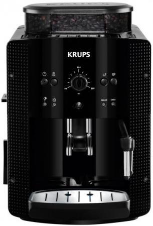 Кофемашина KRUPS Roma Black EA8108 с капучинатором EA810870 цена
