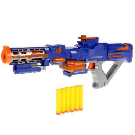Купить Ружье ИГРАЕМ ВМЕСТЕ B1573215-R синий, Игрушечное оружие