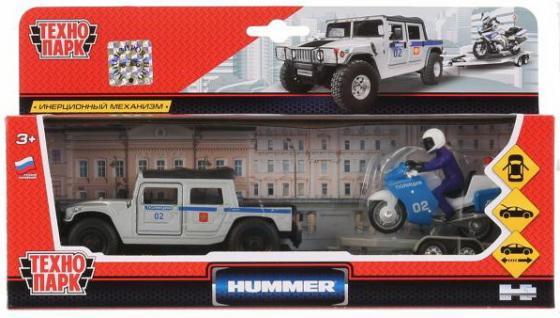 """Игровой набор ТЕХНОПАРК """"Hummer H1. Полиция"""" разноцветный"""