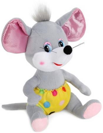 Купить Игрушка мягкая Мышь в желтых штанишках, 18см, без чипа в пак. Мульти-пульти в кор.24шт, МУЛЬТИ-ПУЛЬТИ, Мир животных
