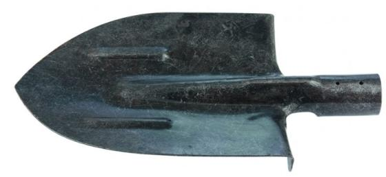 Фото - Лопата штыковая, с ребрами жесткости,рельсовая сталь, без черенка Россия// Сибртех лопата штыковая сибртех 61437 без черенка