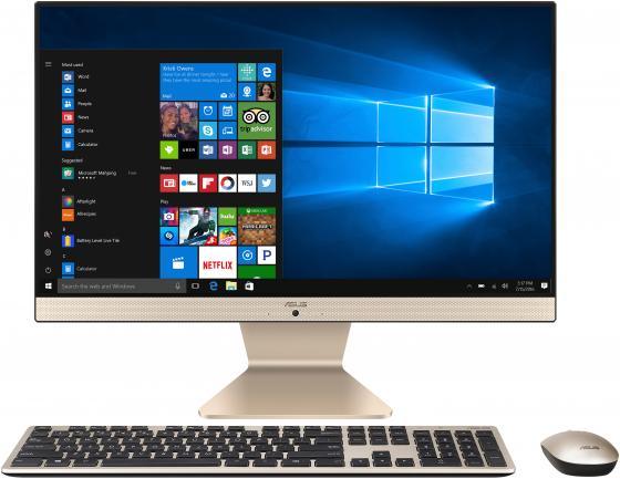 "Моноблок 23.8"" ASUS Vivo AiO V241FFK-BA024T 1920 x 1080 Intel Core i7-8565U 8Gb 1 Tb 128 Gb nVidia GeForce MX130 2048 Мб Windows 10 Home черный белый 90PT02A2-M00930 90PT02A2-M00930 моноблок asus vivo aio v241icuk 90pt01w1 m17290 23 8 черный"