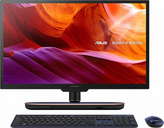 "Моноблок Asus Z272SDT-BA080T 27"" UHD i7 8700T (2.4)/16Gb/2Tb 5.4k/SSD256Gb/GTX1050 4Gb/CR/Windows 10 Home 64/GbitEth/WiFi/BT/180W/клавиатура/мышь/Cam/черный 3840x2160 цена и фото"