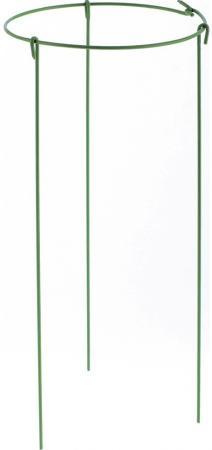 Опора для растений круглая, d21 h45, 3шт./упак, металл в пластике// Palisad