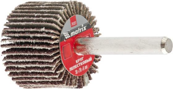 Круг лепестковый для дрели, 30 х 20 х 6 мм, P 80// Matrix круг лепестковый для дрели 60 х 30 х 6 мм р 150 matrix