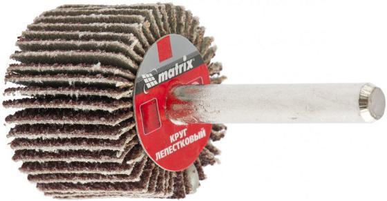 Круг лепестковый для дрели, 30 х 20 6 мм, P 120// Matrix