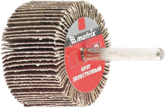 Круг лепестковый для дрели, 80 х 40 х 6 мм, P 40// Matrix брусок сухой строганный хвоя 40 х 40 х 2000 мм