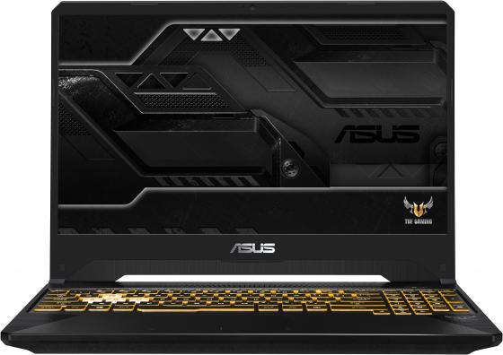 """Ноутбук Asus FX505DT-BQ241T AMD Ryzen 5-3550H (2.1)/6G/1T+256G SSD/15.6""""FHD AG IPS 60Hz/NV GTX1650 4G/noODD/Win10 Gunmetal ноутбук asus fx705dd au035t amd ryzen 5 3550h 2 1 8g 1t 128g ssd 17 3"""