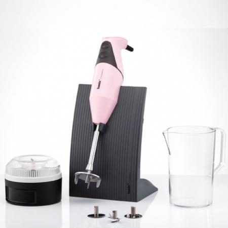 Блендер погружной Bamix M 200 SwissLine 200Вт розовый недорого
