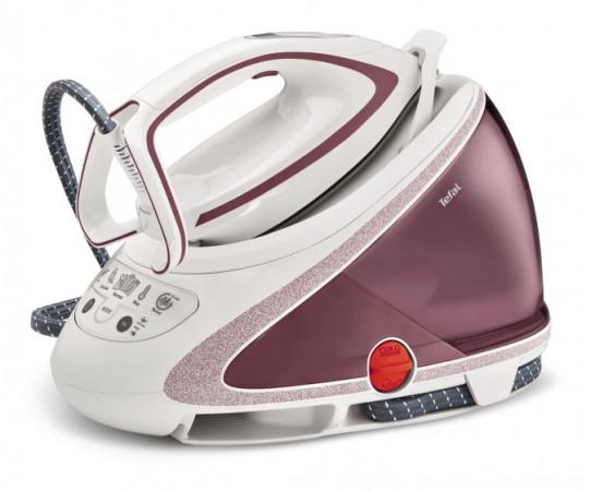 цена на Парогенератор Tefal Pro Express Ultimate Care GV9562 2600Вт белый розовый
