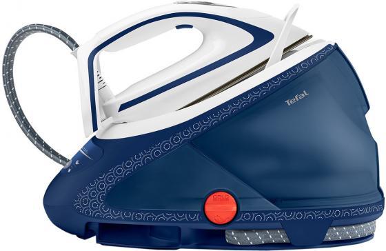 Парогенератор Tefal Pro Express Ultimate Care GV9580 2600Вт синий белый парогенератор tefal gv9061 pro express care красный белый