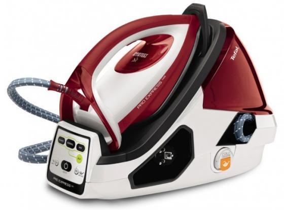 Парогенератор Tefal GV9061 Pro Express Care 2400Вт белый красный