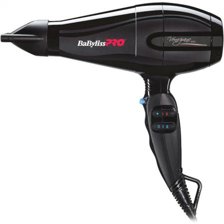 Фен BaByliss PRO BAB6610INRE 2200Вт чёрный babyliss pro rotating фен bab2770e