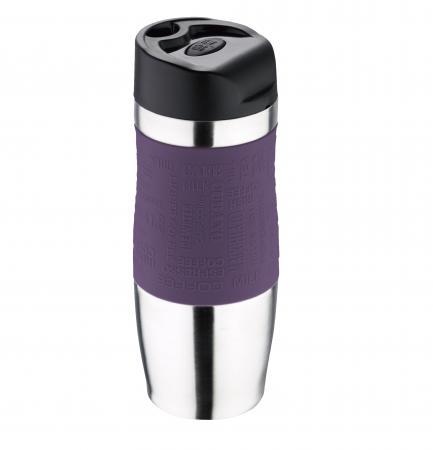 Термокружка Bergner BG-5958-PU фиолетовый кофеварка bergner bg 0671 eu