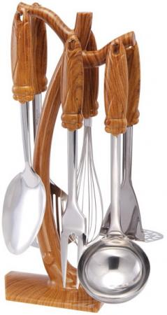 Набор кухонных принадлежностей Wellberg WB-4027 набор кухонных принадлежностей коралл розы