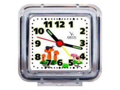 Будильник Вега Б 1-026 прозрачный