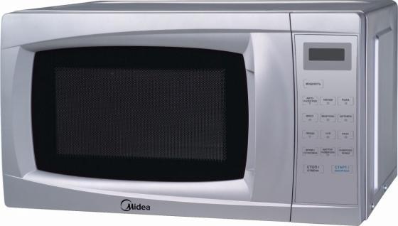 Микроволновая печь Midea EM720CKL-S 700 Вт серебристый цена и фото
