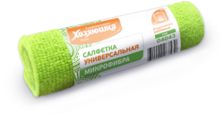 Салфетка для уборки Хозяюшка Мила 04043 салфетка для уборки лайма 30 30 см оранжевый