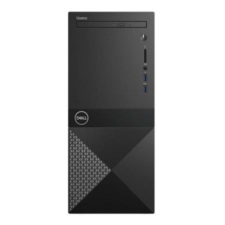 ПК Dell Vostro 3670 MT i3 8100 (3.6)/4Gb/1Tb 7.2k/GT710 2Gb/DVDRW/CR/Linux/GbitEth/WiFi/BT/290W/клавиатура/мышь/черный стоимость