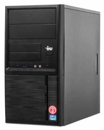 ПК IRU Office 311 MT Cel G4900 (3.1)/4Gb/SSD120Gb/UHDG 610/Windows 10 Professional 64/GbitEth/400W/черный пк iru office 311 sff 393345